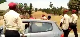FRSC vows to discipline officer who assaulted lady in public