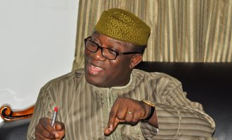 Eight SANs among 35 lawyers defending Fayemi at Ekiti election tribunal