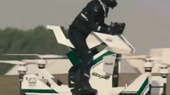 Dubai police to use 'flying bikes' to monitor traffic