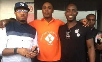 PHOTOS: Siasia, Obanikoro, Kanu Nwankwo attend launch of Ighalo's orphanage