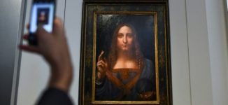 $450m Da Vinci painting of Jesus bought by Saudi prince