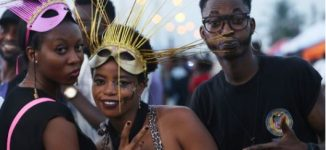 PHOTOS: A day of colourful showcase at Lagos street carnival