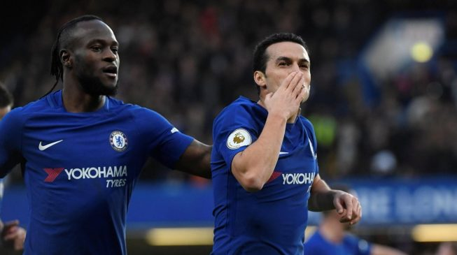 EPL Round-Up: Victor Moses signs off 2017 with big win