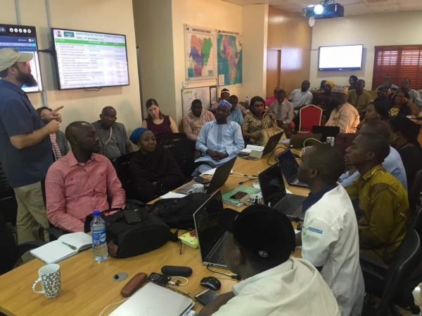 Monkeypox Emergency Operations Centre at the NCDC