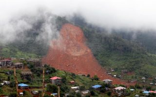 Benue flood, Sierra Leone mudslide… natural disasters in 2017