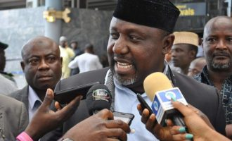 Okorocha's 'amnesty' to wanted persons splits lawmakers