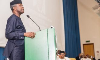 Osinbajo visits Adamawa over farmers, herdsmen clashes