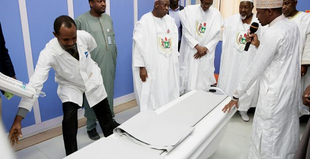 Buhari in Kano, inaugurates projects