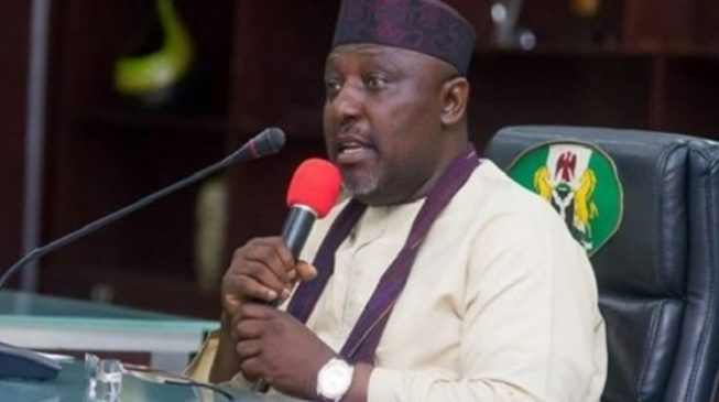 Okorocha: God in support of my son-in-law's governorship ambition
