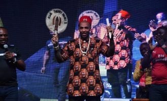 VIDEO: The moment Thierry Henry was crowned Igwe of football
