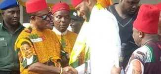 Edochie defects to APGA after securing 145 votes in Anambra guber poll