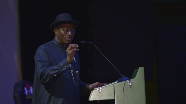 Jonathan: Implementation of 2014 confab report will end ethnic agitations