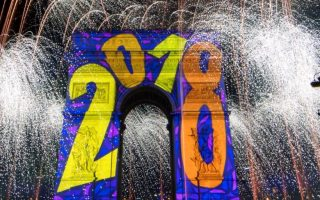 How the world ushered in the New Year