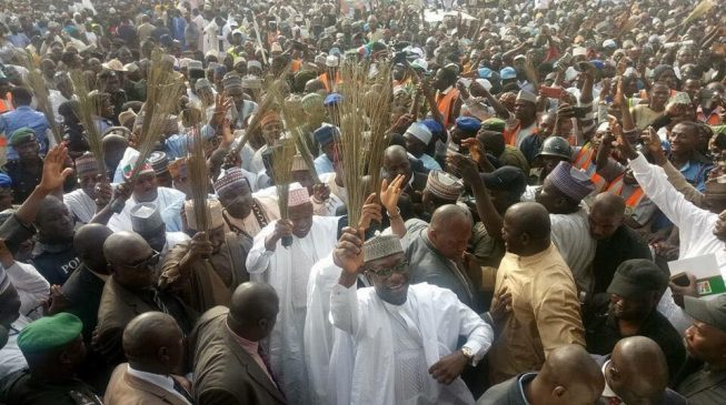 Buhari: Millions of people will join APC in a few months
