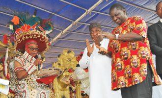 Femi Adesina bags chieftaincy title in Enugu