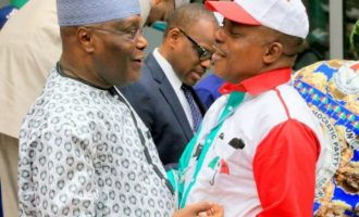 'With Atiku as presidential candidate, PDP will return to power in 2019'