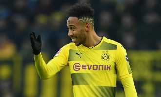 Arsenal 'agree deal' to sign Aubameyang on £180,000-a-week