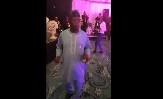 TRENDING VIDEO: Obasanjo outshines wife on dancefloor