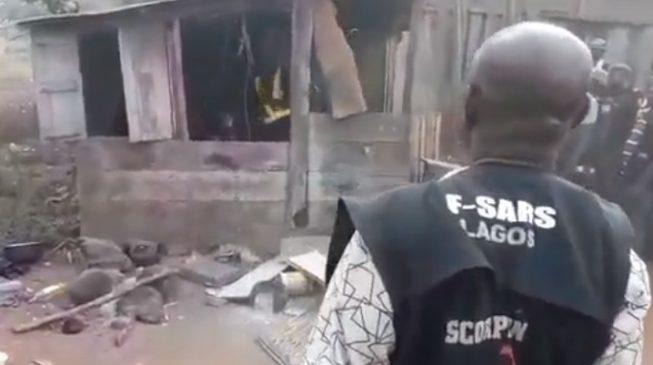 VIDEO: Police raid 'Badoo shrine' in Ijebu Ode