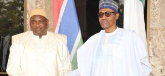 Barrow reveals Buhari's 'one statement' that convinced Jammeh to step down