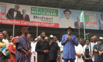 Buhari/Osinbajo campaign takes off in south-west
