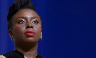 Adichie takes swipe at the French — over question on whether Nigeria has bookshops