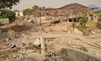 'Patience Jonathan's property' demolished in Abuja
