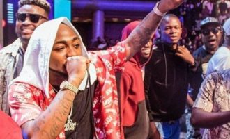 VIDEO: Davido hails Wizkid, D'banj, Olamide for 'putting Africa on the map'