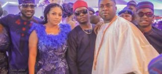 PHOTOS: Olamide, Peter Okoye spotted at traditional wedding of Elegushi