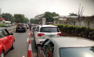 PHOTOS: Petrol queues return to Lagos