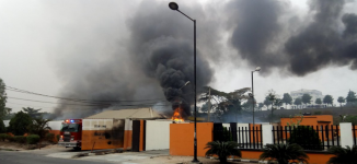 '10 dead', several injured in gas explosion at  Lagos station