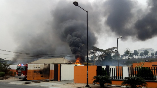 10 feared dead as fire guts Second Coming gas plant in Magodo