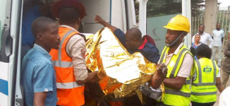 '10 dead', many injured in gas explosion at  Lagos station