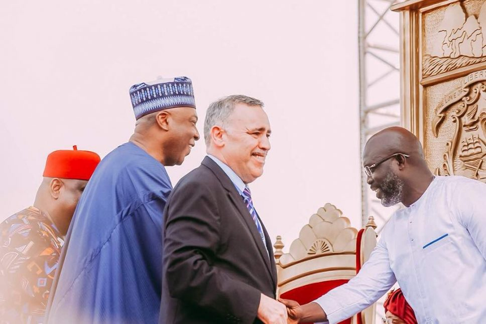 Photos from George Weah's inauguration