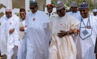 No apologies… Buhari must re-contest, say seven governors