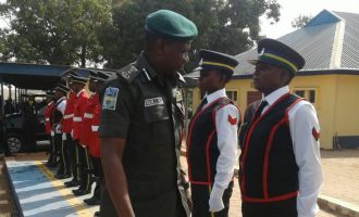 PHOTOS: IGP moves to Benue on Buhari's order
