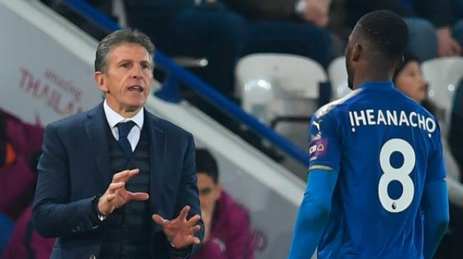 Iheanacho needs to improve, says Leicester coach