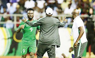 'He misses chances but scores important goals' — Eagles' coach backs Okpotu