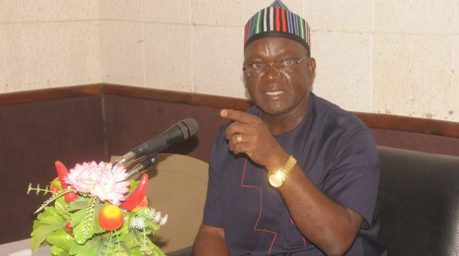 Don't be Miyetti Allah's mouthpiece, Ortom warns defence minister