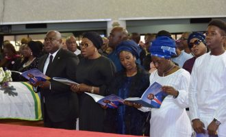 Tributes as Deji Tinubu is buried