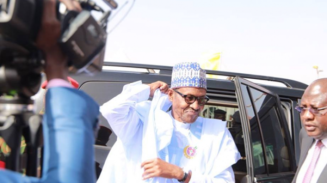 Buhari cannot run, time ran out on him