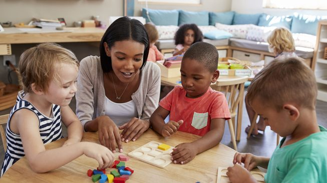 How to infuse academics in play based preschool