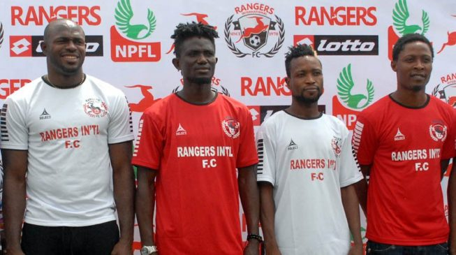 Abu Azeez, Femi Thomas, Godwin Zaki… Rangers unveil 17 new players