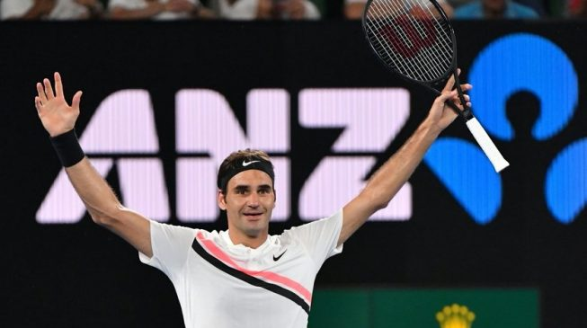 Everything is coming up Roger Federer at Australian Open