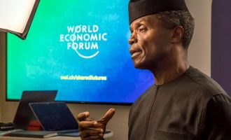 Osinbajo: For now, Buhari isn't thinking of a second term