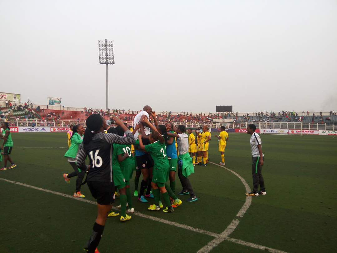 Nigeria beat South Africa, qualify for Federation Internationale de Football Association U-20 Women's World Cup