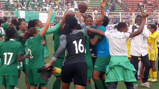 Falconets qualify for World Cup in grand style; rout S/Africa 6-0