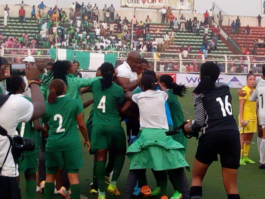 Falconets on brink of World Cup qualification, to play South Africa today