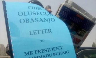 PHOTOS: Obasanjo's 'letter bomb' on sale in Abuja