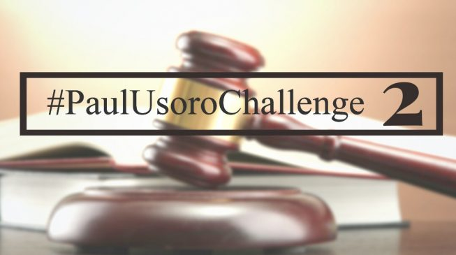 JUST IN: The Second Edition of the Paul Usoro Challenge kicks off